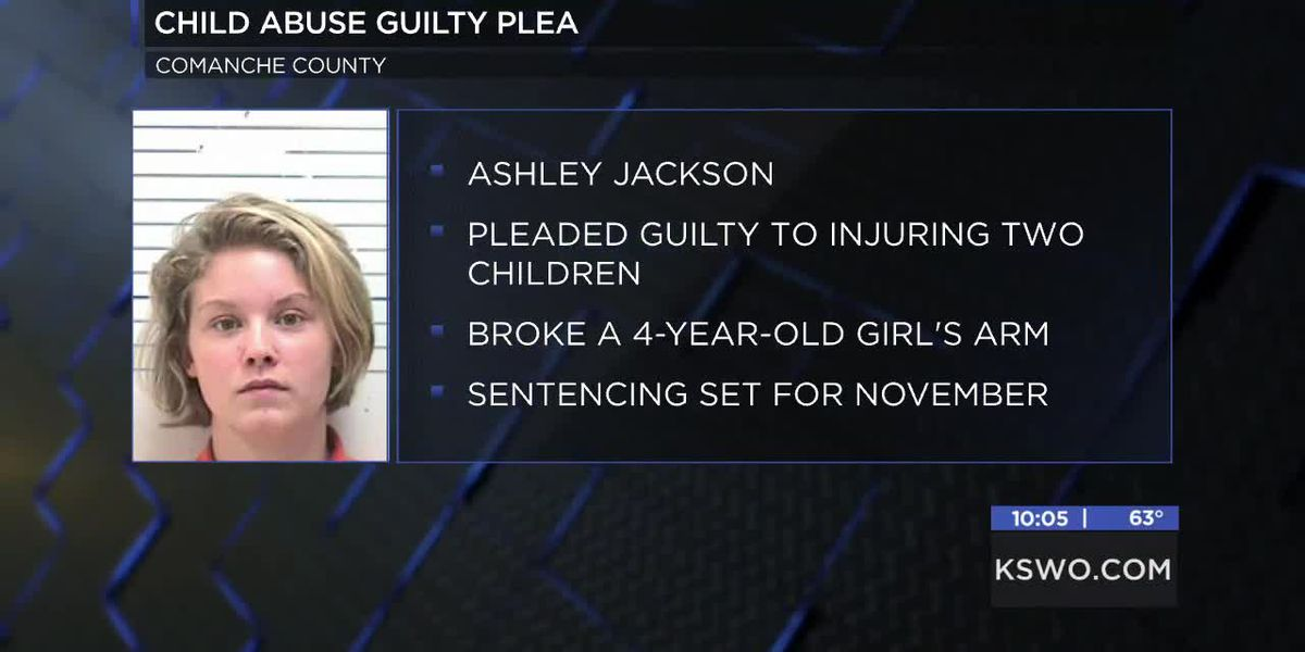 Lawton woman pleads guilty to child abuse
