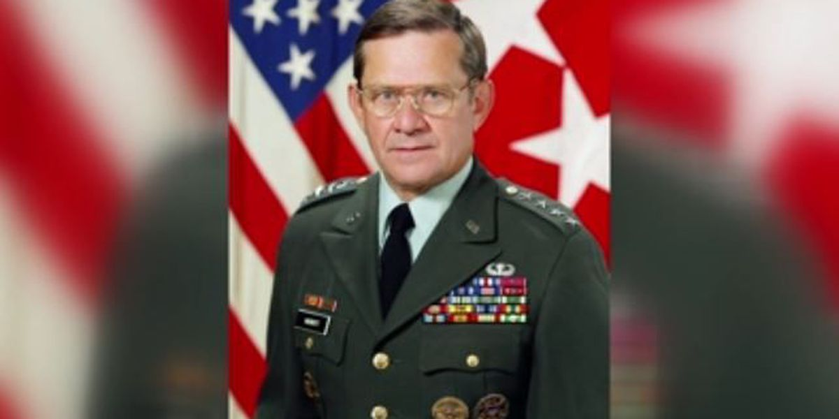 Funeral services being held for Former Fort Sill Commanding General Jack Merritt