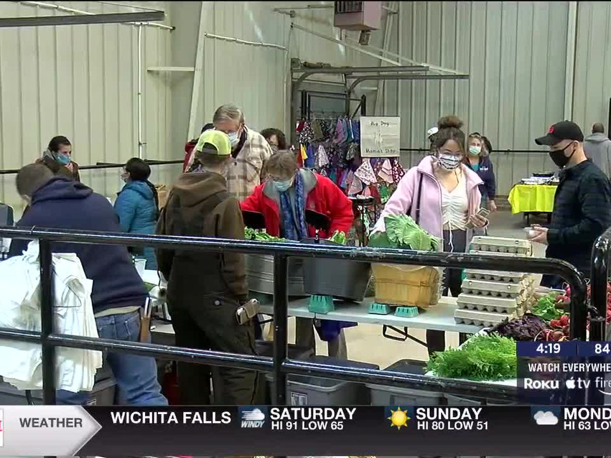 Lawton Farmers Market celebrates Mother's Day