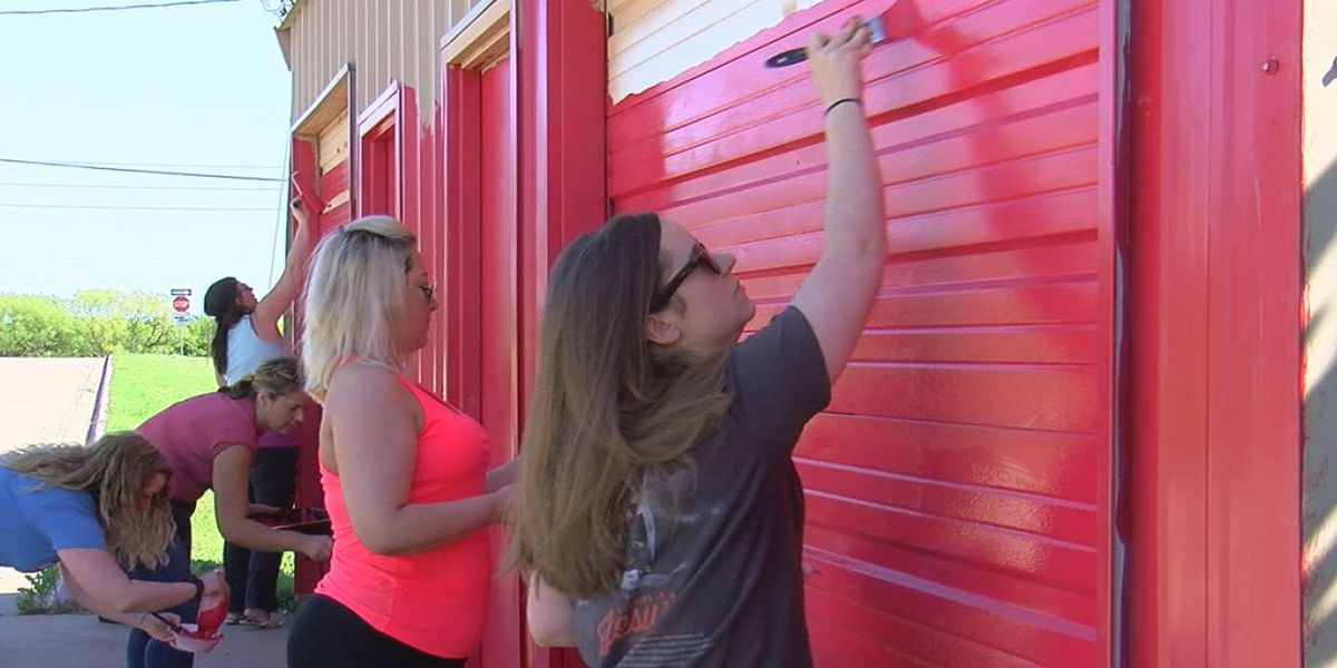 Community volunteers for annual day of caring