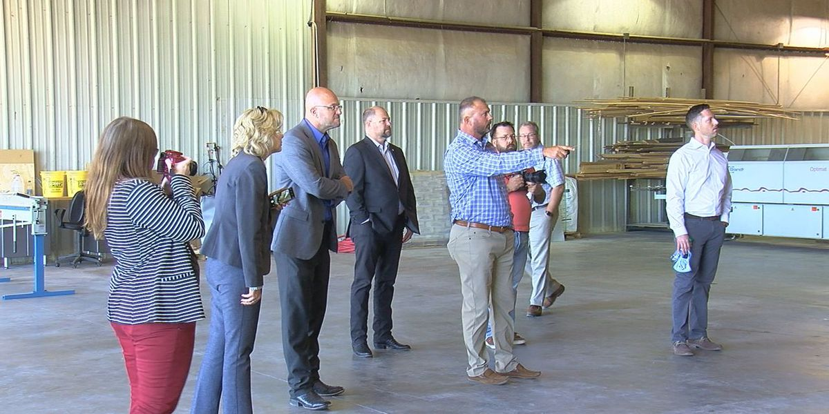 State officials visit Duncan businesses who received CARES Act funds