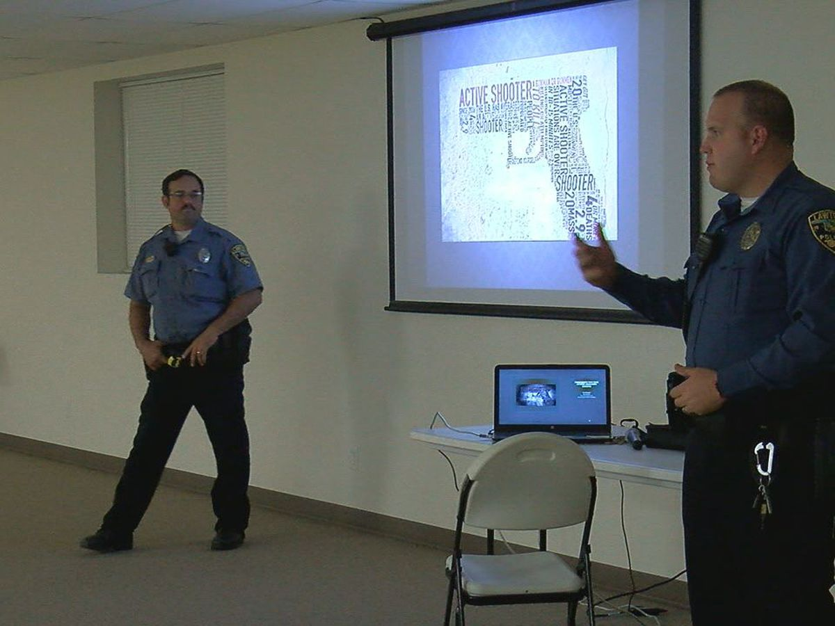 LPD visits Walters for active shooter training