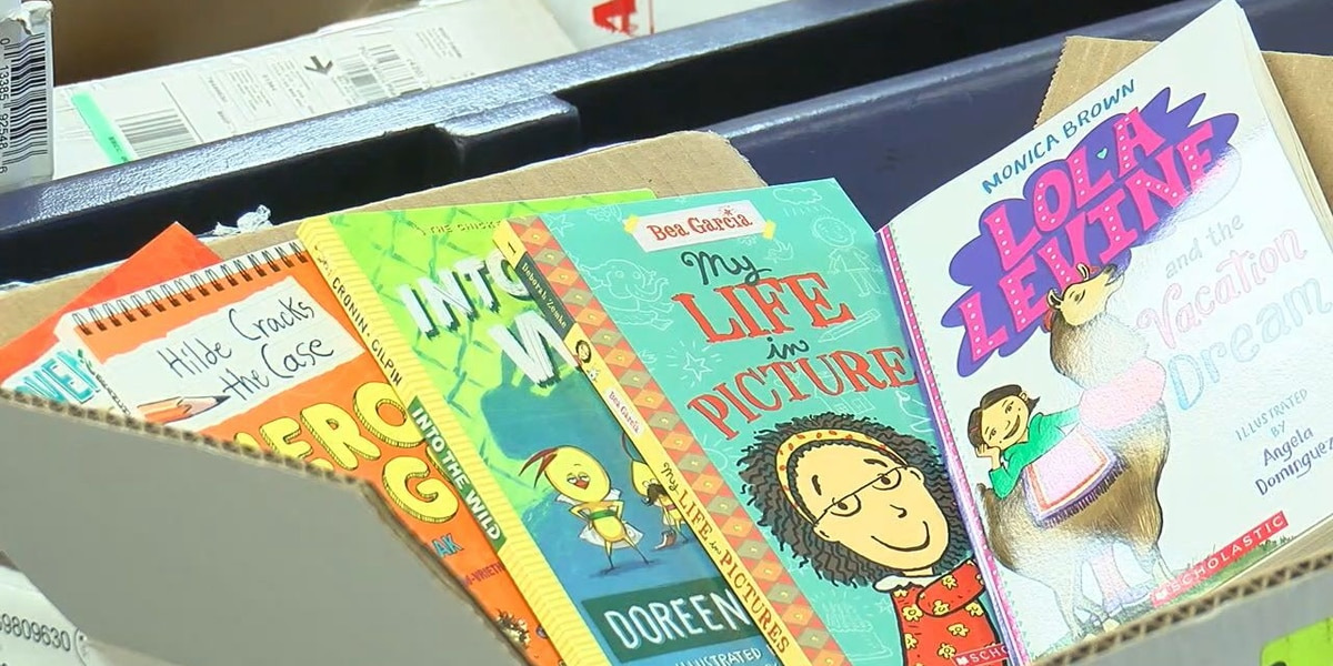 Lawton business collecting book donations for families in need