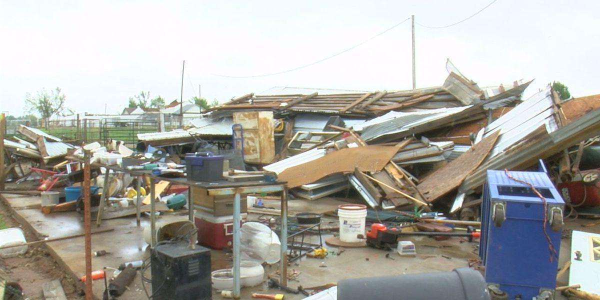 Storms destroy barns, restaurants across SWOK