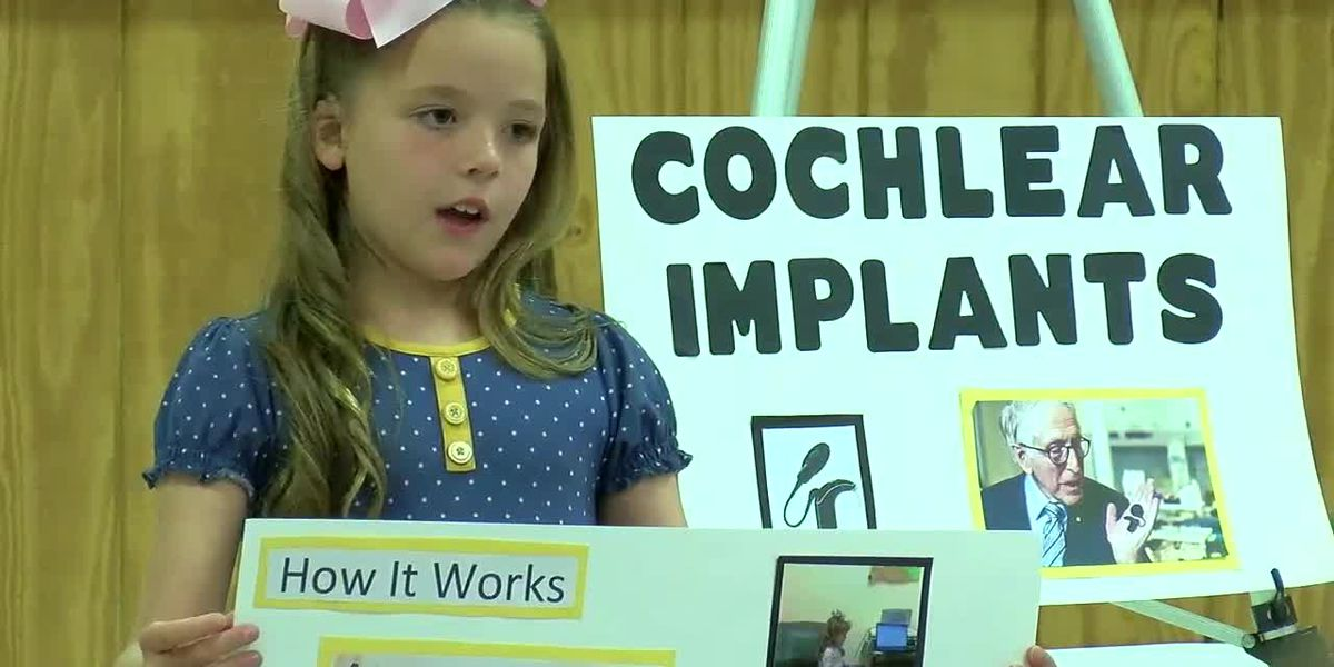 4-H speech competition gave one contestant a chance to share her special story
