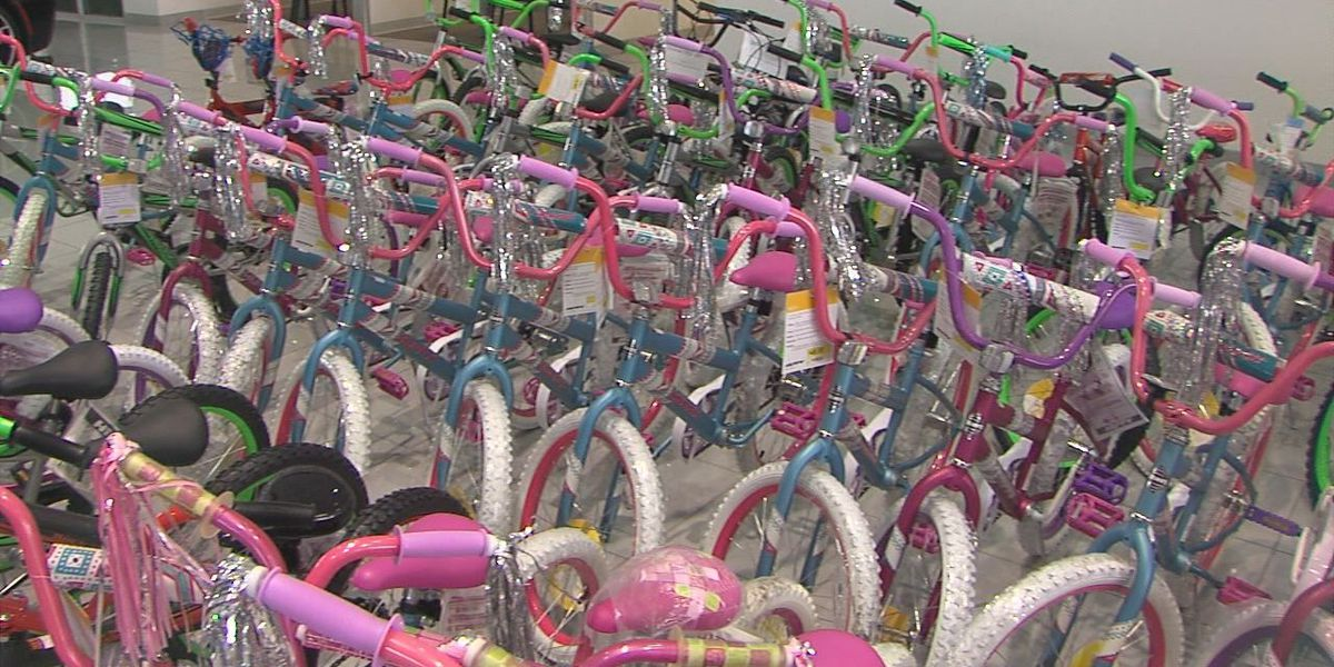 Operation Santa Claus collects bikes for children