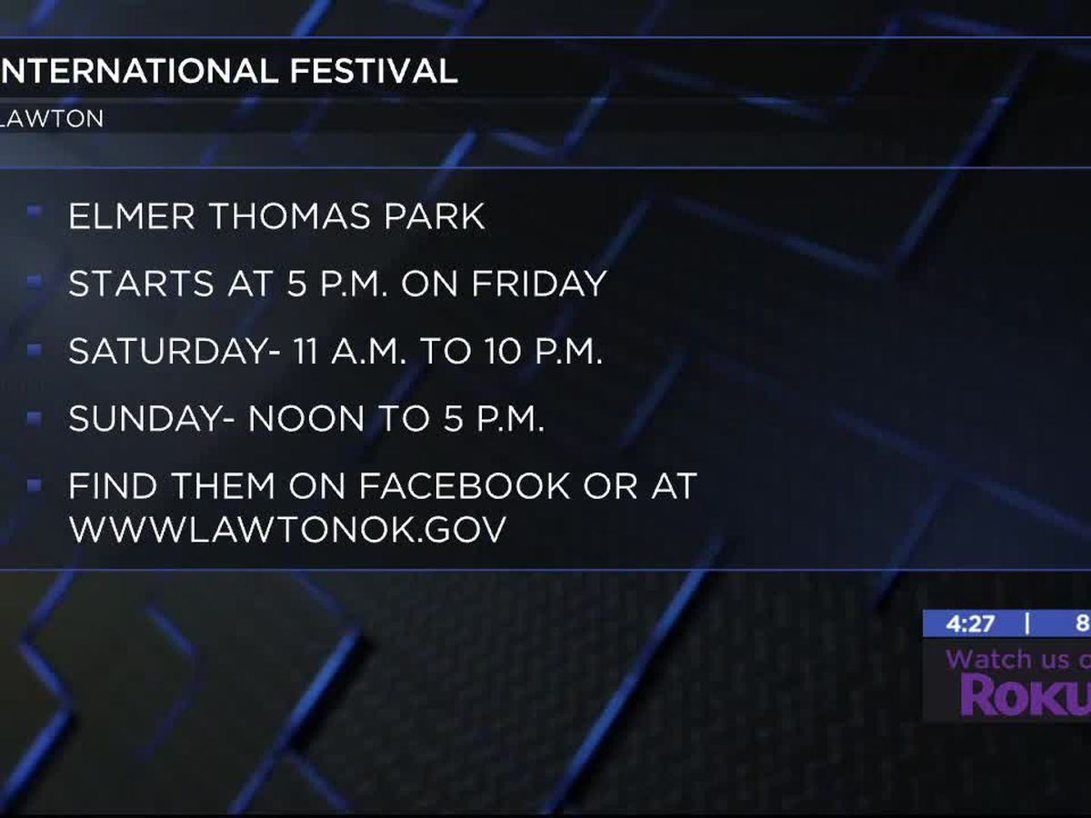 39th annual International Festival coming up in Lawton