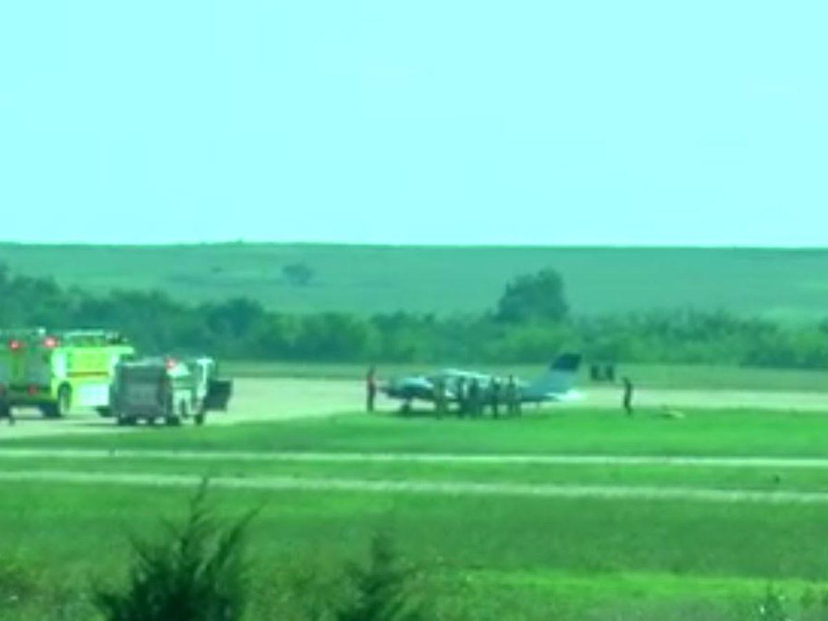 Plane Runs Off Runway At Lawton Fort Sill Regional Airport