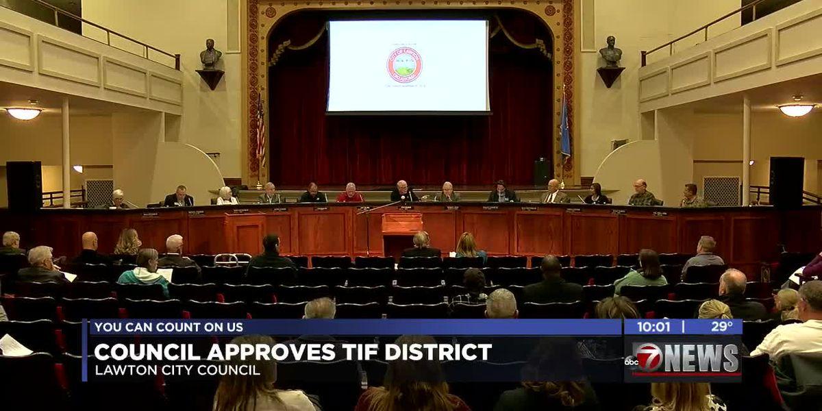 Lawton City Council approved TIF District