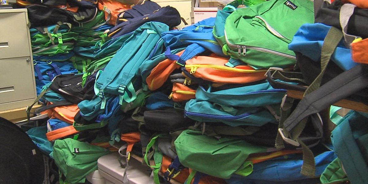 Lawton gives helping hand to community in school supplies giveaway