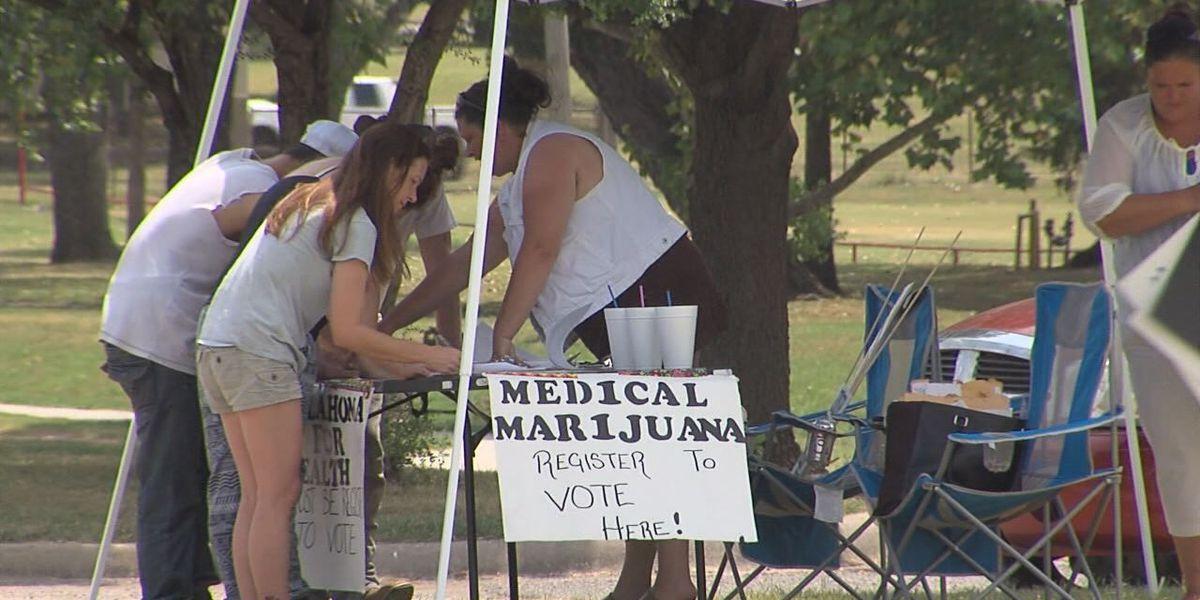 Oklahoma medical marijuana petition growing
