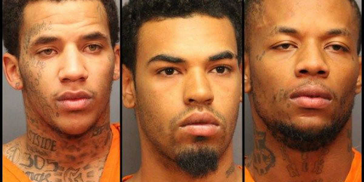 3 charged in Lawton homicide