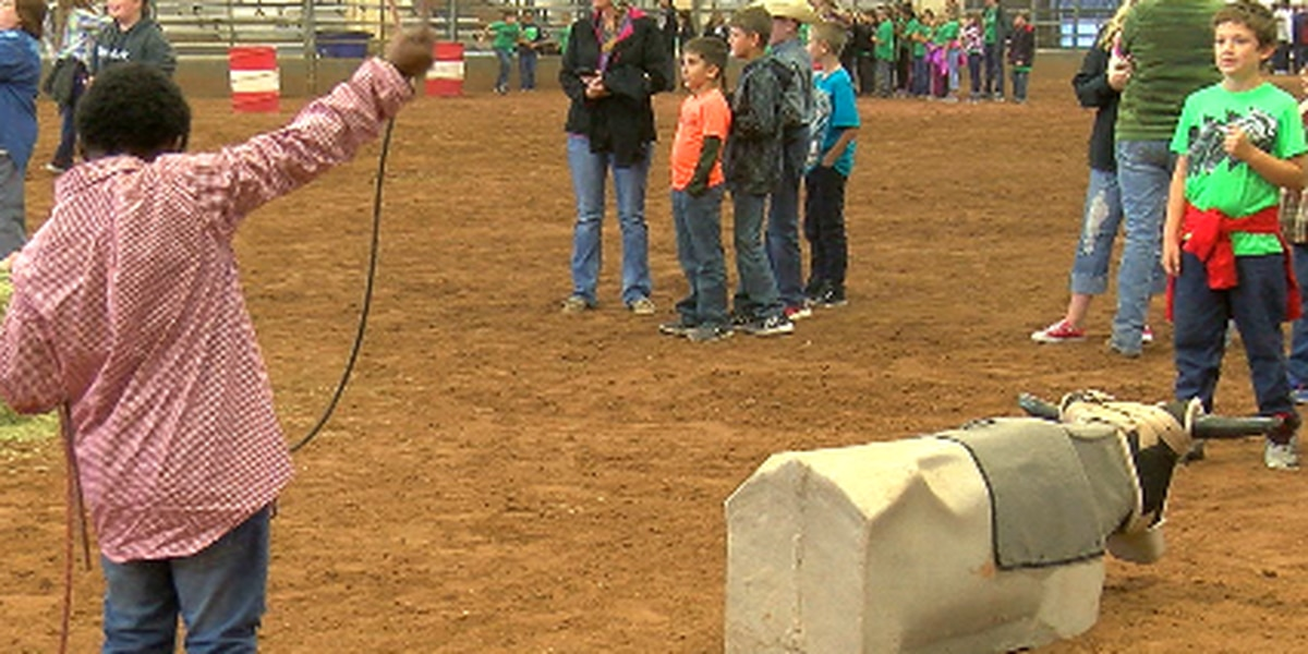 Students learn history and sport of rodeo at 'Preview Day'