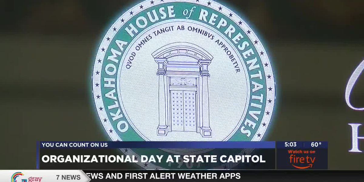House and Senate meet for Organizational Day at Capitol