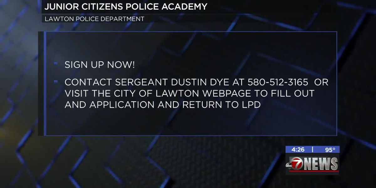 Lawton Police Department hosting Junior Citizens' Police Academy
