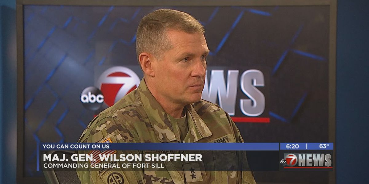 In Studio: Fort Sill Commanding General Major General Wilson Shoffner