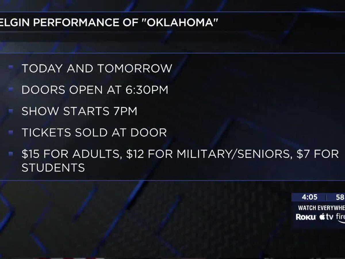 Elgin High School's brand new performing arts center hosts first performance