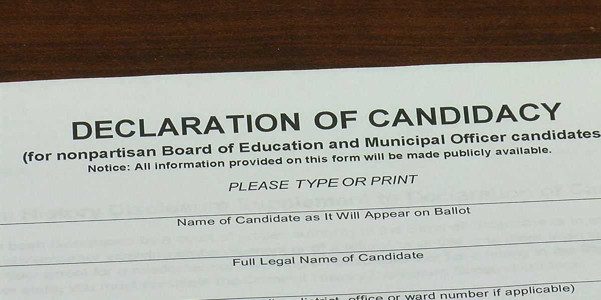 Date to file for city elections set for July 29th-July 31st