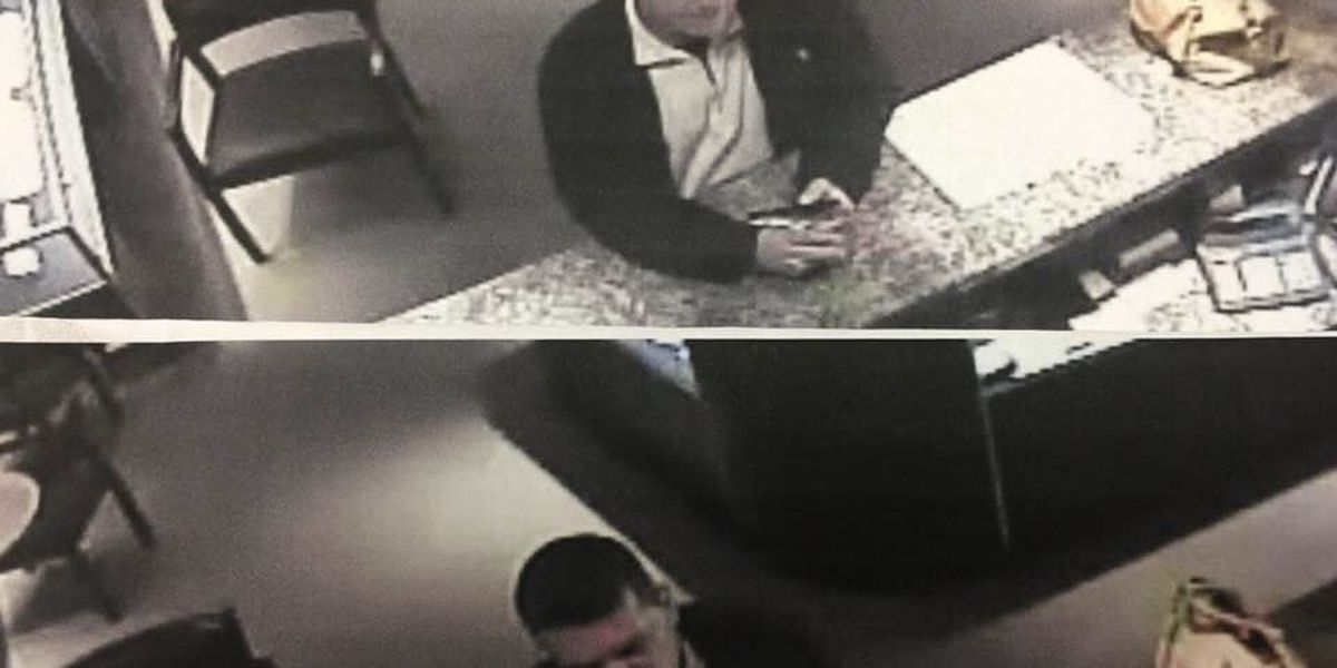 Duncan PD seek info about jewelry thief