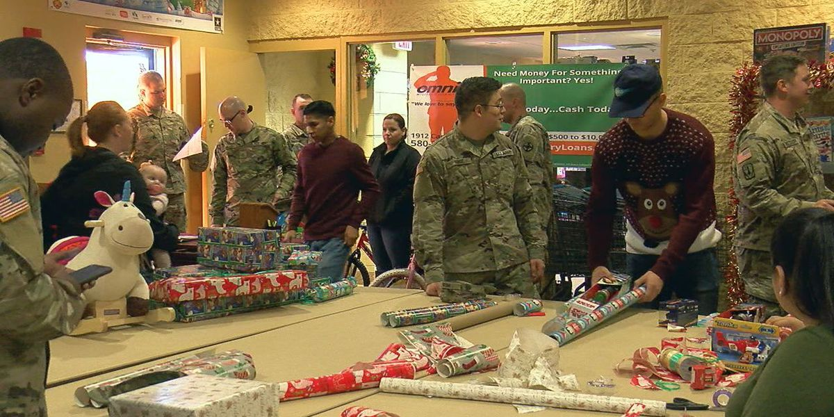 Fort Sill soldiers receive free Christmas presents for their families