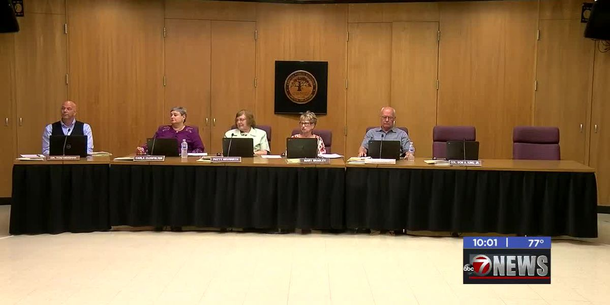 School Board approves superintendent resignation, begin search process for replacement