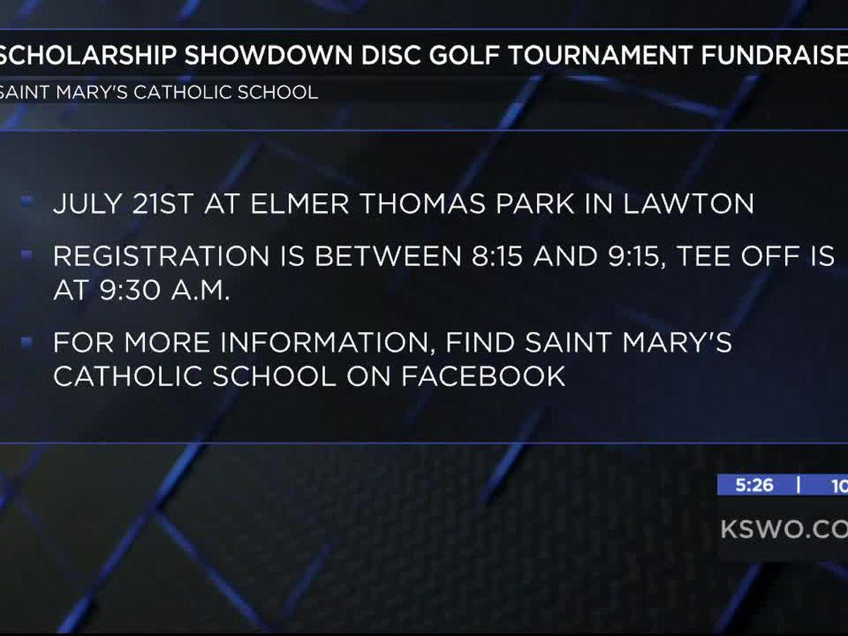 Saint Mary's Catholic School hosting disc golf fundraiser