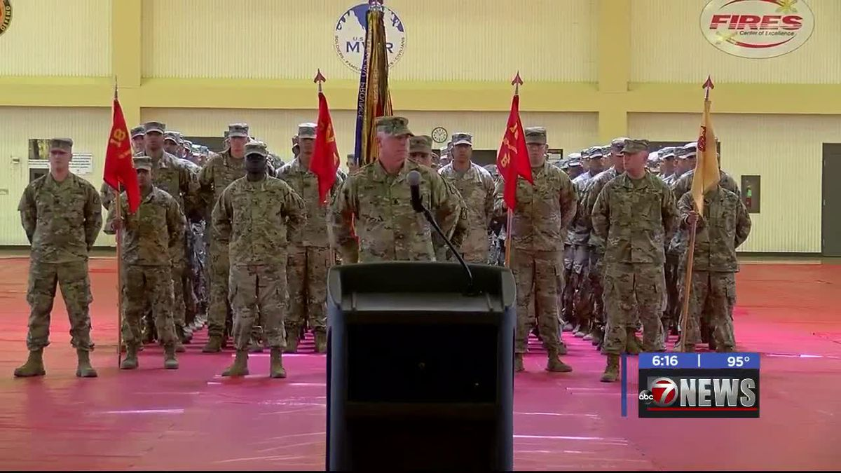 Color casing ceremony held at Fort Sill