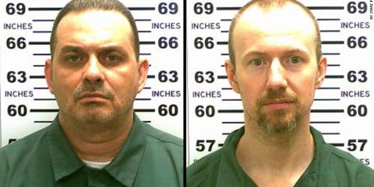 Police searching area near New York prison for 2 escapees