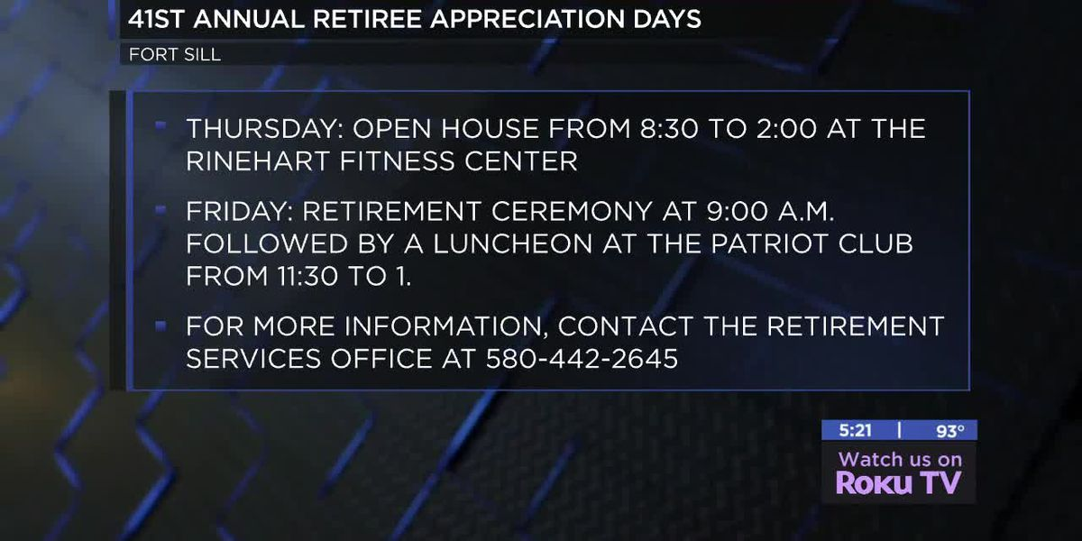 41st annual Retiree Appreciation Days happening on Fort Sill