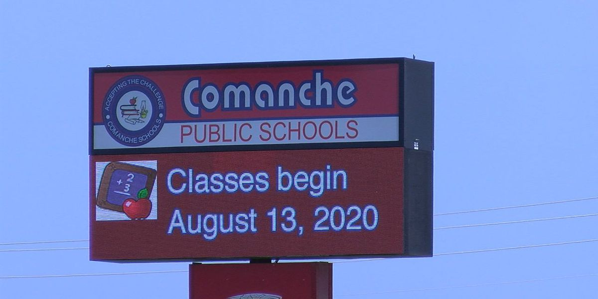 BACK TO LEARNING: Comanche Public Schools prepared to start Thursday