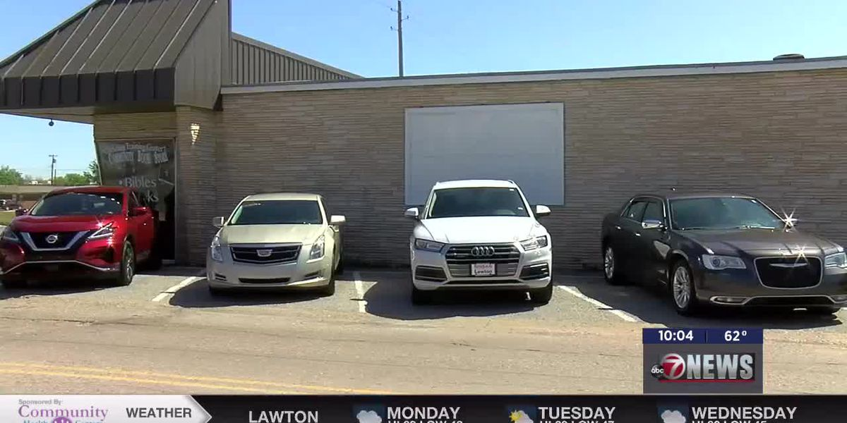 Lawton church buys new cars for members