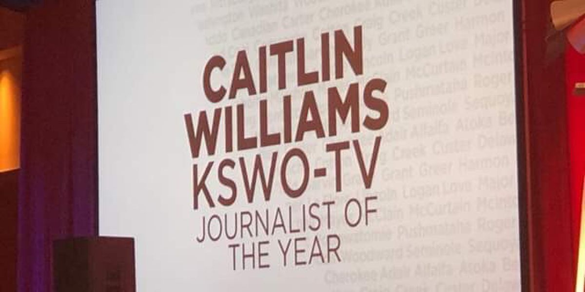 Caitlin Williams named OFB 'Journalist of the Year'