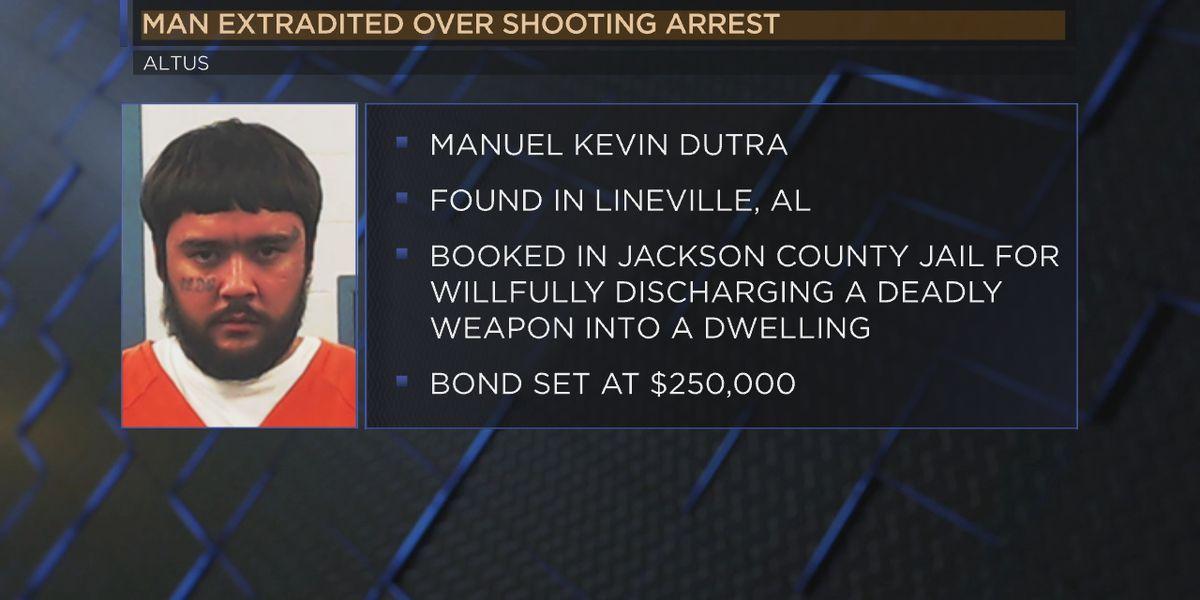 Altus shooting suspect arrested in Alabama