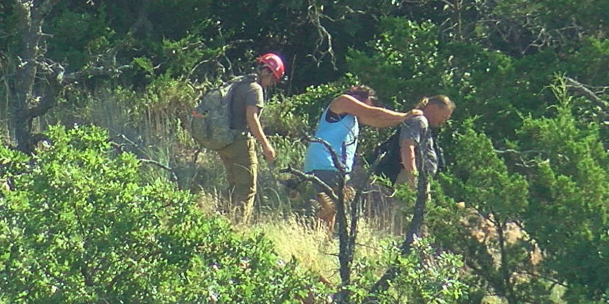 Four hikers rescued from Mount Scott