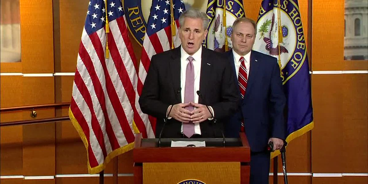 McCarthy: State of the Union should happen despite shutdown