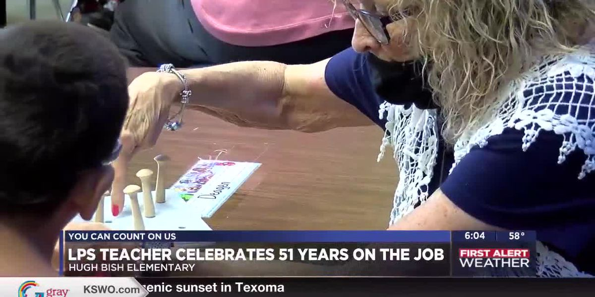 Lawton School Teacher celebrates 51 Years with the District