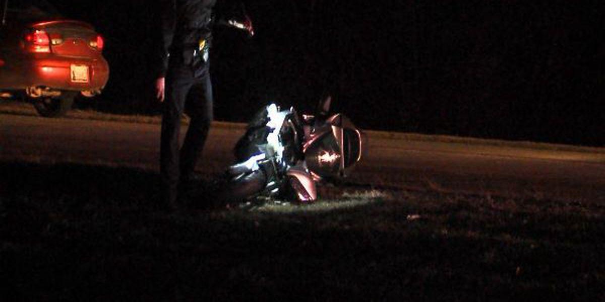 Motorcyclist hurt in Lawton crash