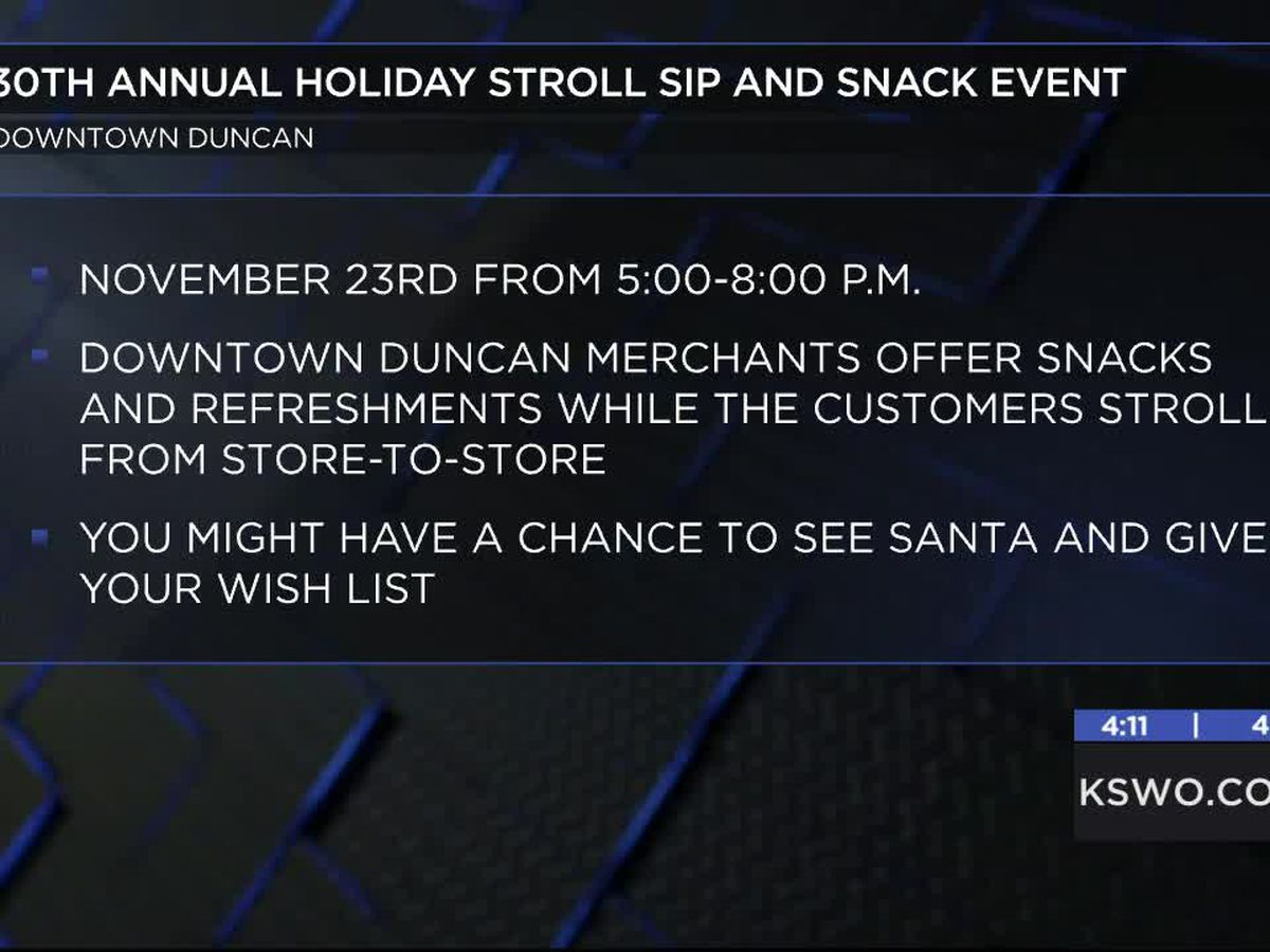 30th annual Holiday Stroll coming up in Duncan