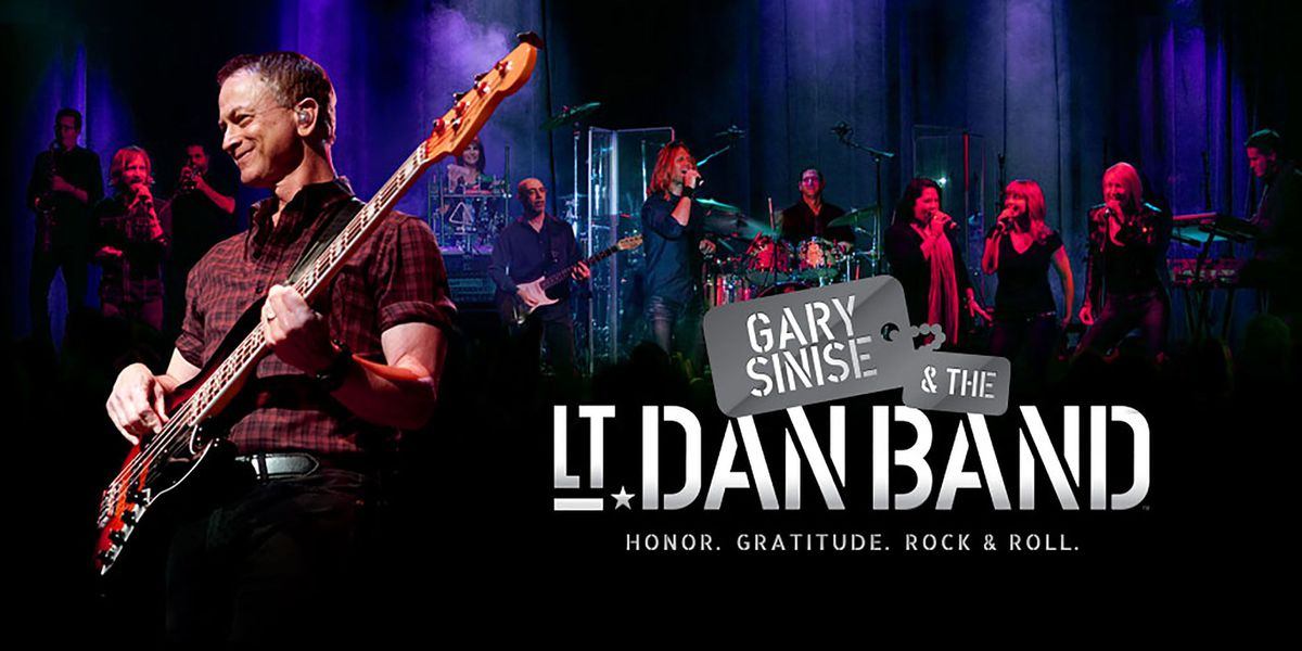 Gary Sinise and the Lt. Dan Band to put on free concert