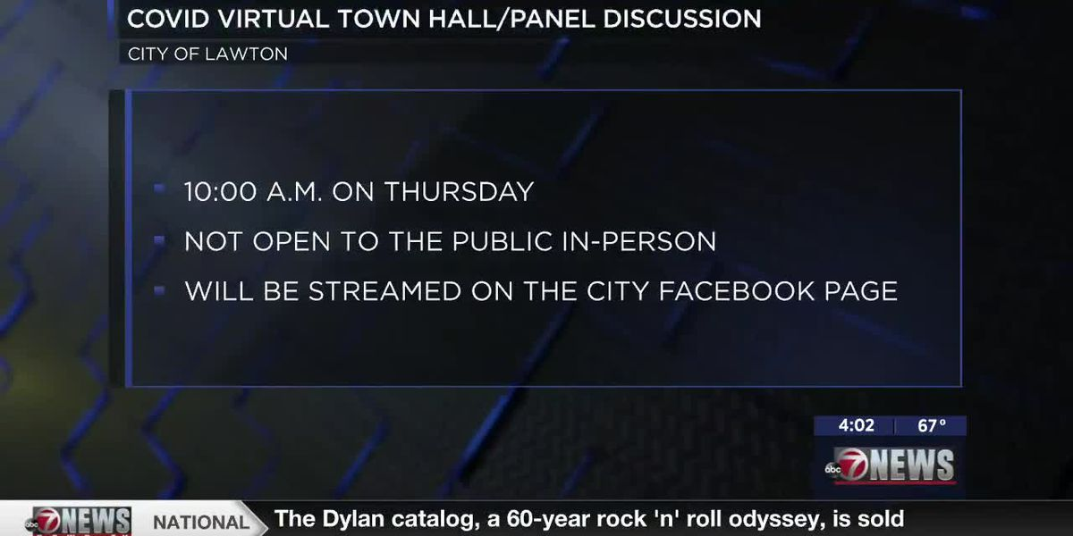 City of Lawton COVID-19 virtual town hall