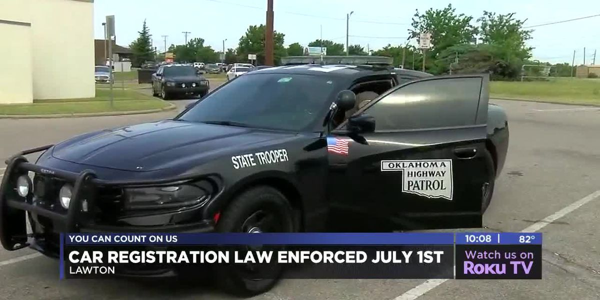 Oklahoma Highway Patrol ready to check for registrations