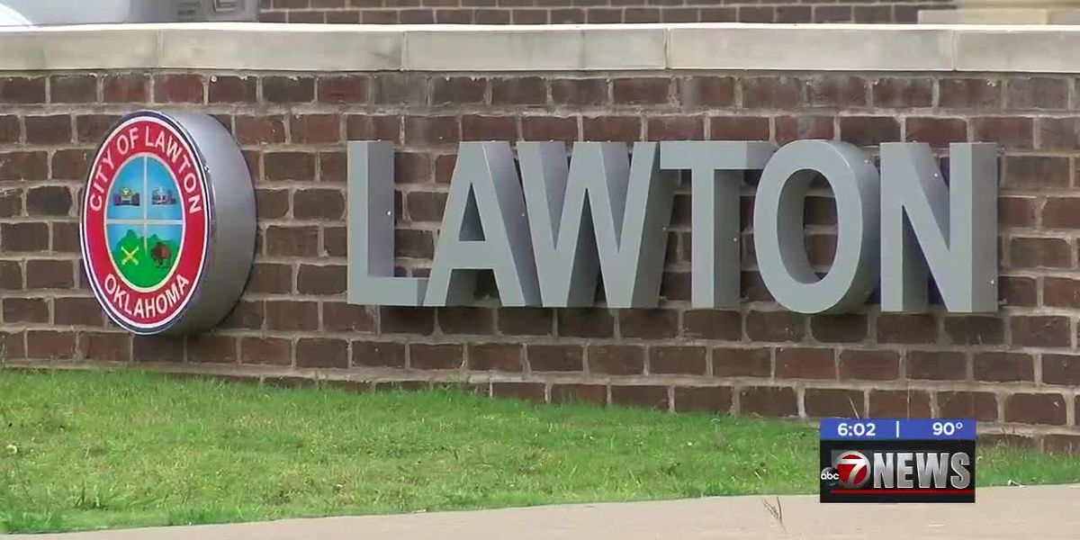 Lawton City Council in executive session discussing city manager applicants