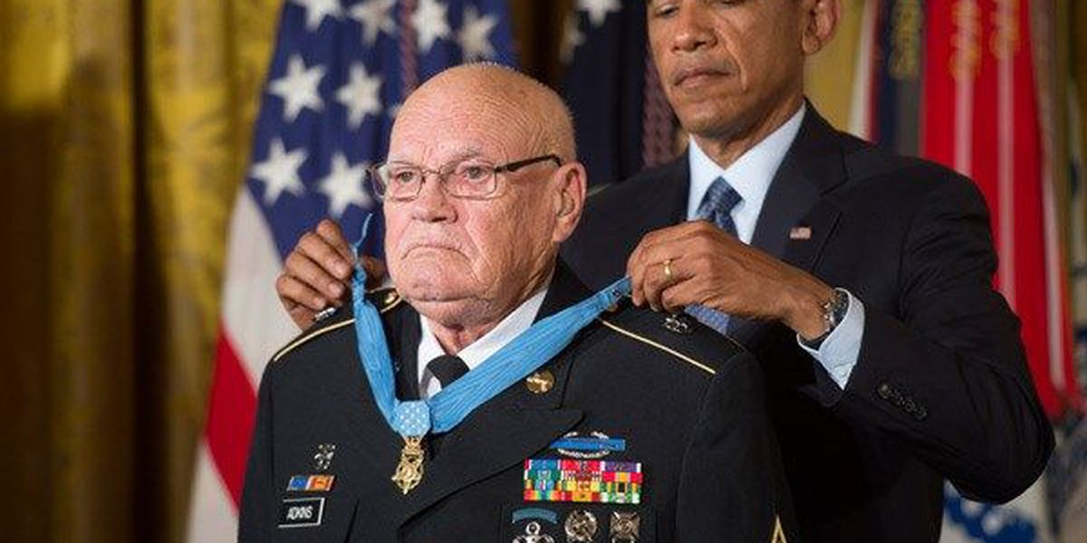 """Waurika to honor Medal of Honor recipient on """"Bennie Adkins Day"""""""