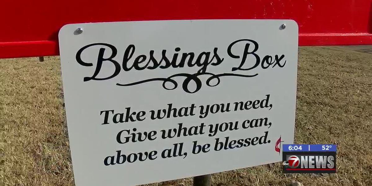 Blessing Box offers food, cleaning supplies for Duncan citizens