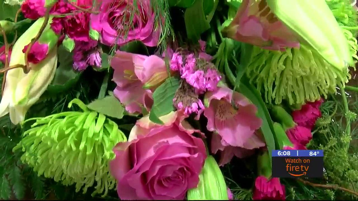 Local flower shop prepares for busy week