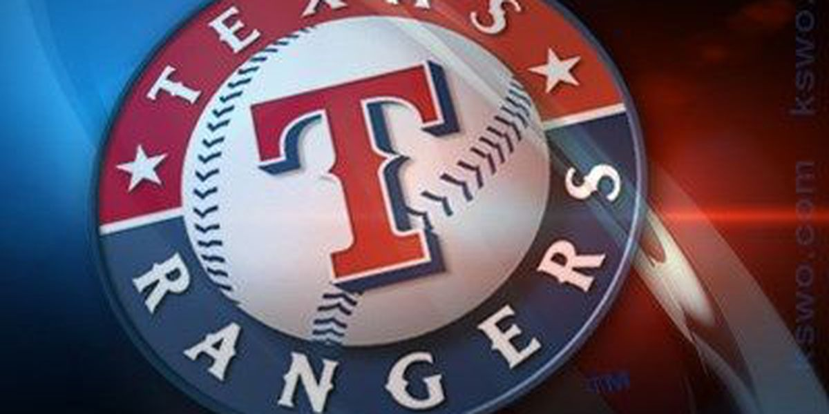 Odor homers, gets into testy exchange as Rangers beat Astros