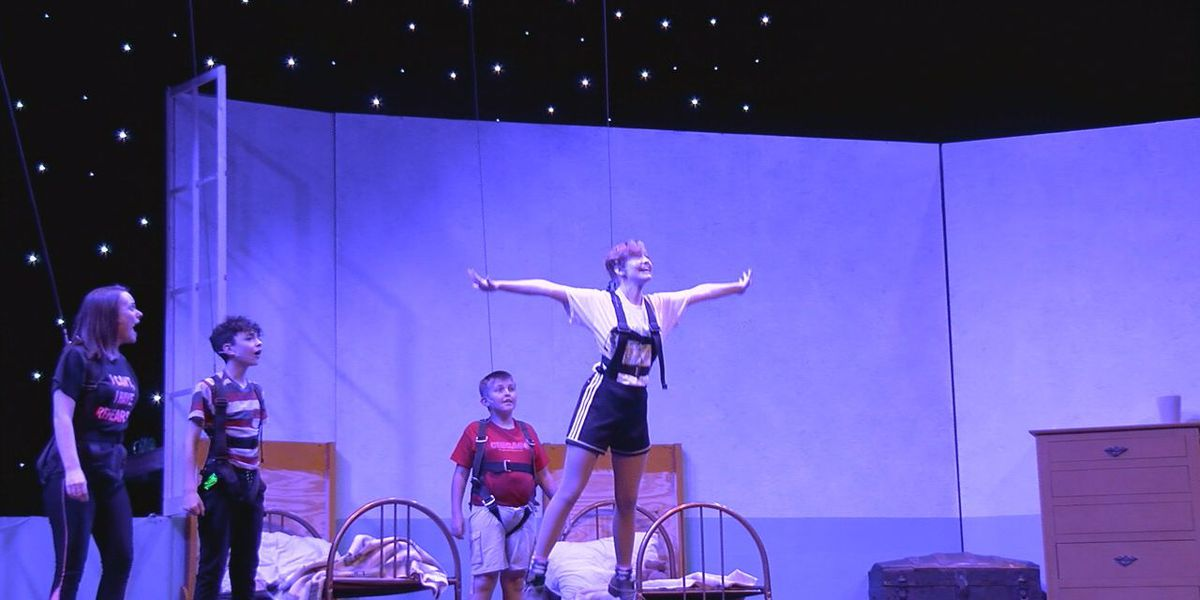 Lawton Community Theatre gets ready to present Peter Pan