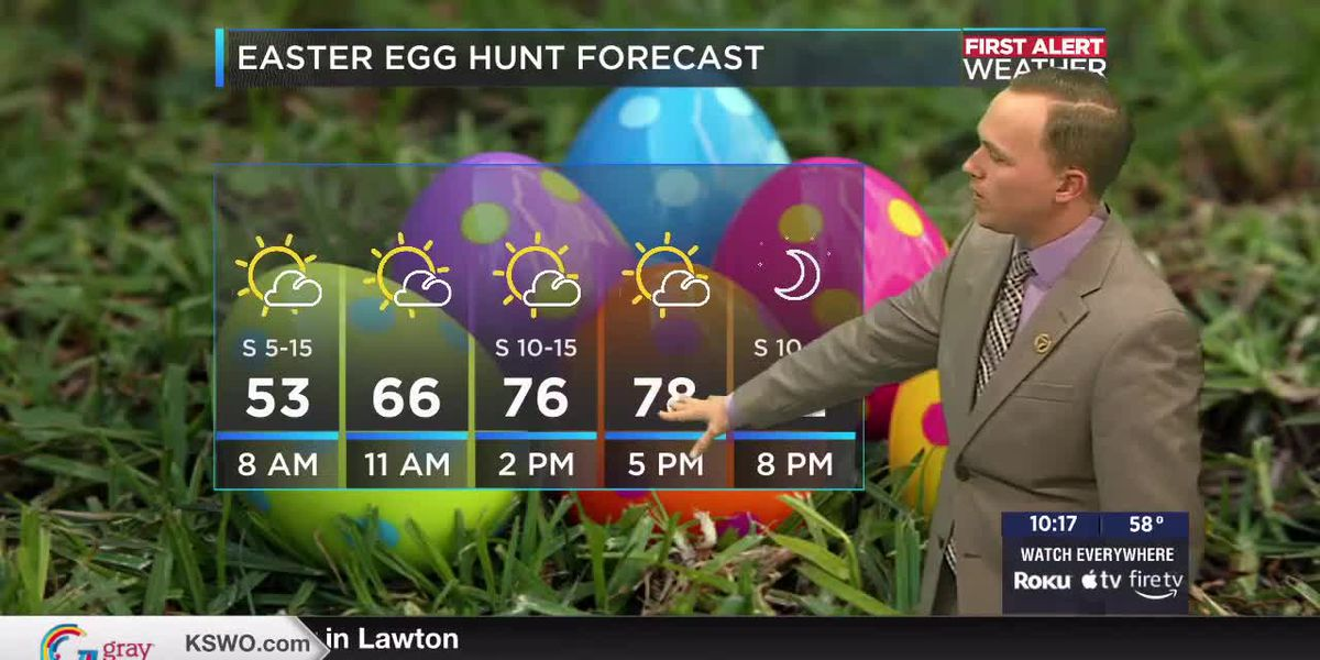7News First Alert Weather: Pleasant weather for Easter weekend with unseasonably warm weather early next week