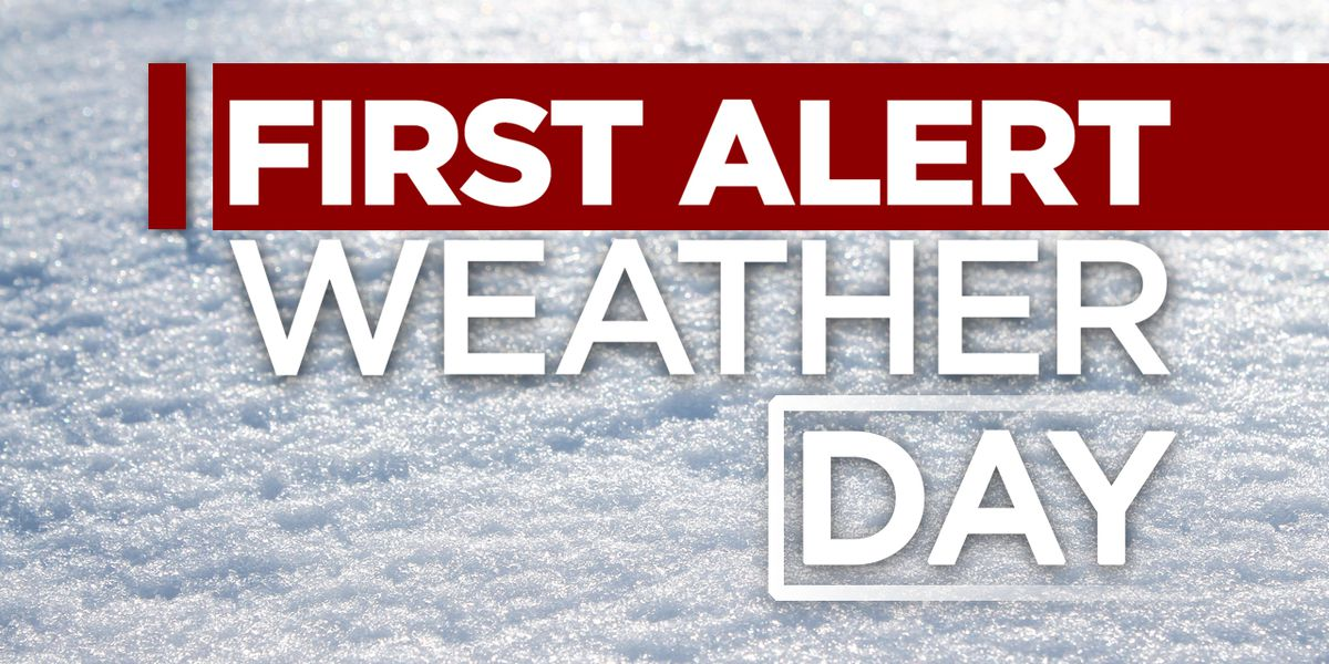 First Alert Forecast: slick roads this morning