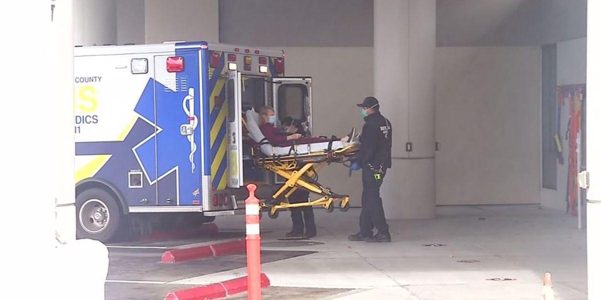 Hospitals struggle to keep up in COVID-19 hotspot California